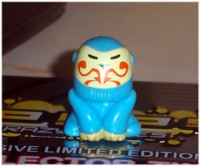 Exclusive Limited Edition Gogos Crazy Bones Advance #9 KEMO (colours may vary)