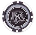 Batman's Wayne Casino Collectors Edition $1 Poker Chip Grey Coloured Variant