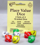 13 Pack KOPLOW GAMES INC. PLACE VALUE DICE
