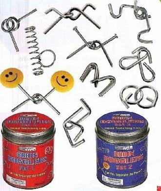 Brain Boggler Gift Tin (Styles May Vary)