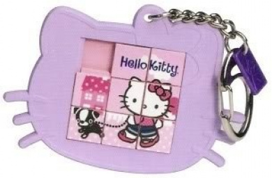 Hello Kitty Puzzle Keychain