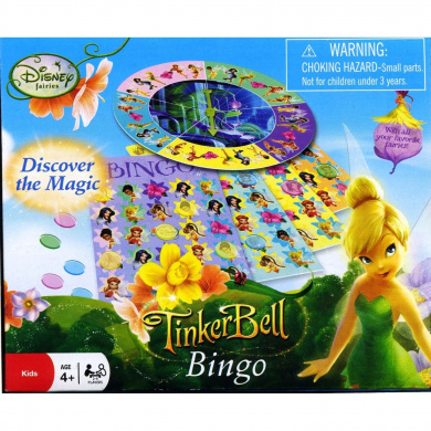 Disney Tinker Bell Bingo