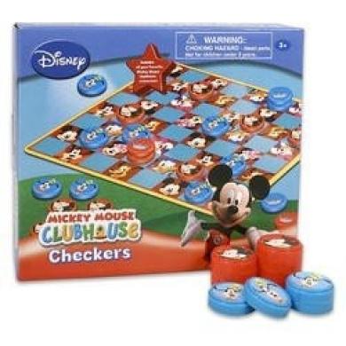 Disney Mickey Mouse Clubhouse Checker, Bingo & Tic Tac Toe