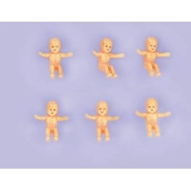 King Cake Baby Favours