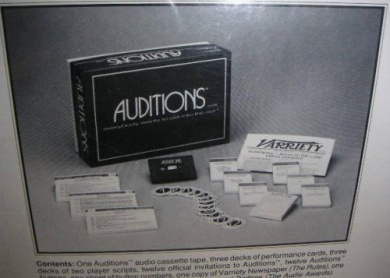 Auditions, the Game; Everybody Wants to Get Into the Act