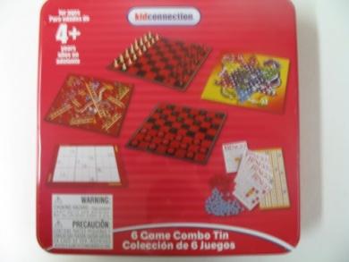 6 Game Combo Tin