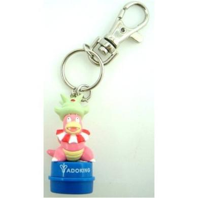 Pokemon Stamper Keychain - Slowking (Japanese Import)