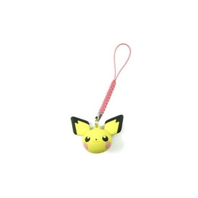 Pokemon Strap with Pichu Head Figure *** Free Domestic Standard Shipping For This Item!***