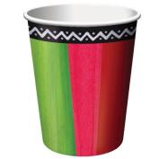 Costumes 203092 Fiesta Stripes 9 oz. Paper Cups