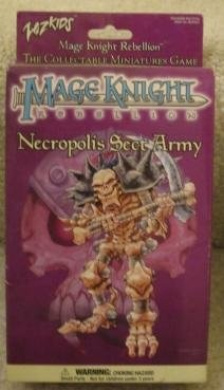 Mage Knight Necropolis Sect Army