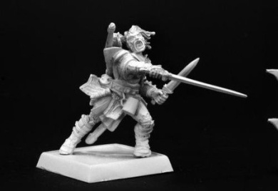 Valeros, Iconic Male Human Fighter REM60001 REAPER MINATURES