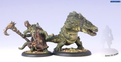 Hordes: Minion Wrong Eye and Snapjaw (2 figures)