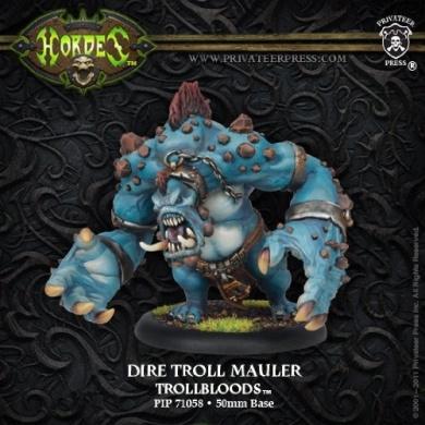 Hordes: Trollbloods - Dire Troll Blitzer/Bomber/Mauler Heavy Warbeast (Plastic)