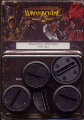 Miniatures Bases 30mm Bases (12) PIP 91001