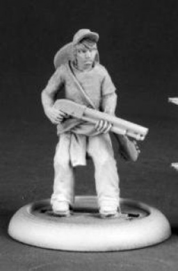 Gallup Zombie Survivor Chronoscope Series Miniatures