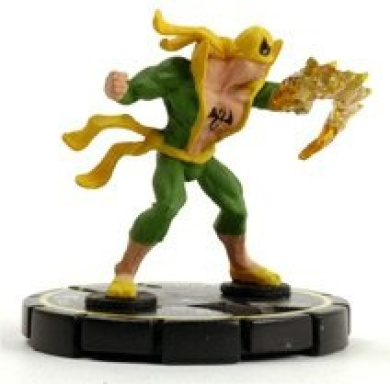 HeroClix: Iron Fist # 47 (Experienced) - Fantastic Forces