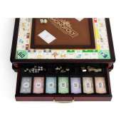 Wooden Monopoly Luxury Edition