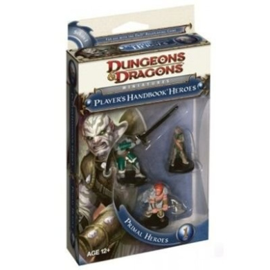 D and D Dungeons and Dragons Miniatures Players Handbook Heroes Primal Heroes 1