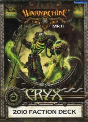 Cryx MKII 2010 Deck Warmachine Miniatures Combat Game