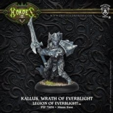 Hordes: Legion of Everblight Warlock Kallus Wrath of Everblight (1 figure)