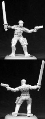 Cobra Modern Ninja Chronoscope Miniature Figures by Reaper Miniatures