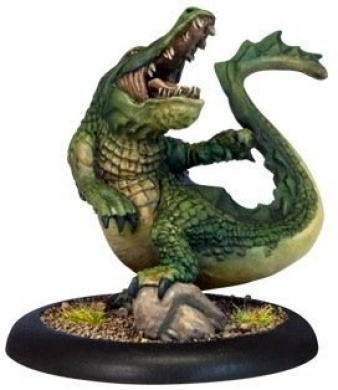 Hordes: Minion Gatorman Light Warbeast Bull Snapper (1 figure)