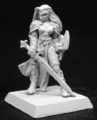 Warlord Female Justicar RPR 14093