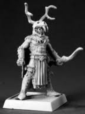 The Stag Lord Pathfinder Miniature