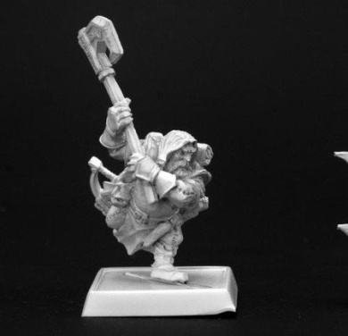 Harsk Iconic Male Dwarf Ranger Pathfinder Series Miniatures