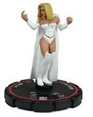 HeroClix: White Queen # 81 (Veteran) - Clobberin Time