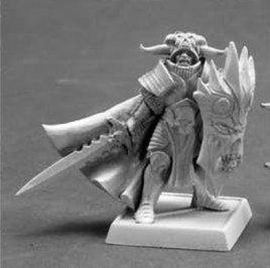 Anti Paladin Pathfinder Miniature