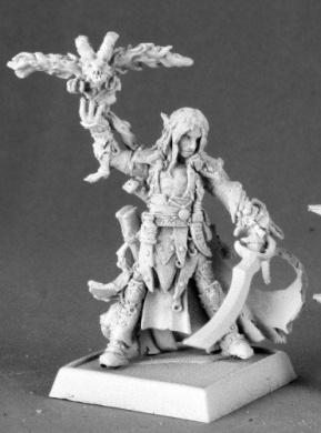 Seltyiel Iconic Eldritch Knight Pathfinder Series Miniatures REM60032 REAPER MINATURES