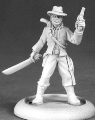 Frank Buck Adventurer Chronoscope Series Miniatures