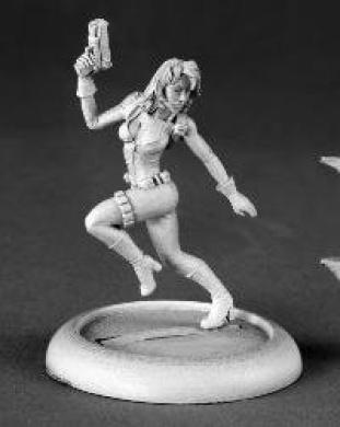 Natalia Female Secret Agent Chronoscope Miniature