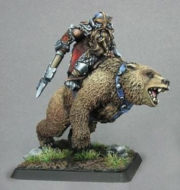Thorvald-Dwarf Bear Rider
