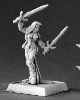 Majeda Battle Nun Warlord Miniatures