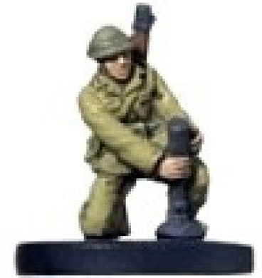 Axis and Allies Miniatures: Type 89 Mortar # 46 - Base Set