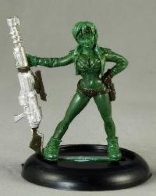 Gretha Female Sniper Chronoscope Miniature