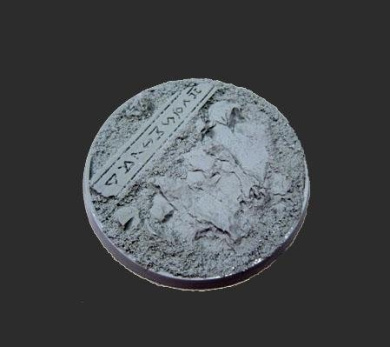 Secret Weapon - Scenic Bases: Bevelled Edge 60mm Runic Mountain 03 (1)
