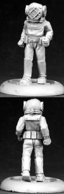Deep Sea Diver Chronoscope Miniature Figures by Reaper Miniatures