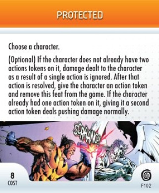 HeroClix: Protected Promo # F102 (Limited Edition) - Mutations and Monsters