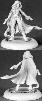 Nightslip Pulp Era Heroine Chronoscope Miniature