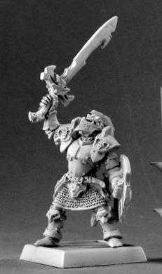 Ymrillix the False Anti Paladin Warlord Miniatures