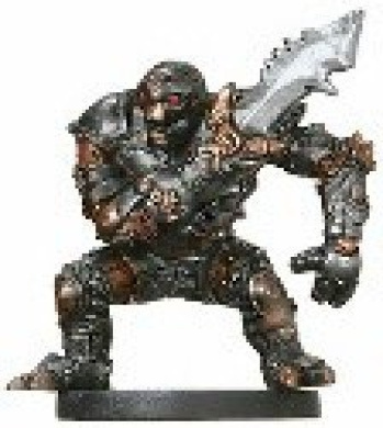 D & D Minis: Warforged Fighter # 6 - Giants of Legend