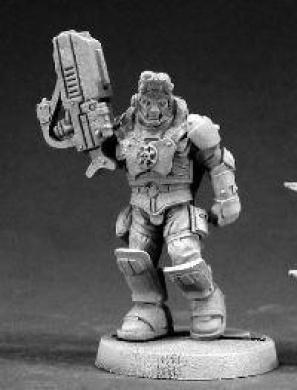 Nick Stone, Intergalactic Marine RPR 50014
