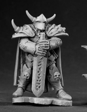 Harstov Irongrave Knight Lord Dark Heaven Legends Miniature by Reaper Miniatures