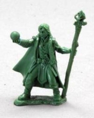 Drake Whiteraven, Young Mage Dark Heaven Legends Miniature