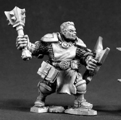 Dark Heaven Legends: Lazarus Ashwinter, Male Cleric
