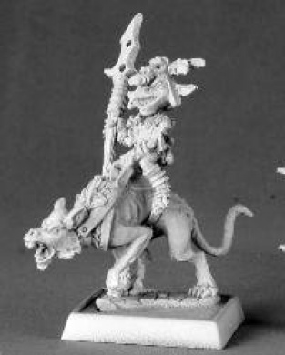 Goblin Commando on Dog Pathfinder Miniatures REM60014 REAPER MINATURES