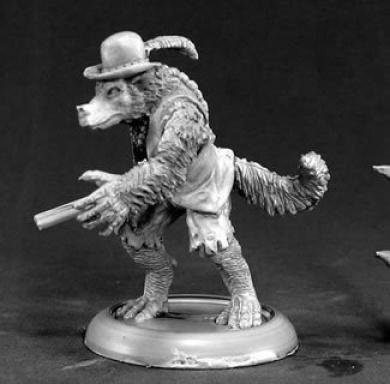 Jesse Moonwalker Werewolf Tracker Chronoscope Miniature Figures